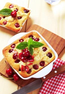 Пандишпанов кейк с череши